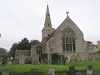 St James Church in Grafton Underwood on Sunday morning for the 384th BG services.JPG