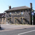 The Half Moon Pub direckly across from Emily Alfter's house in Lakenheath.