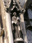 Huntingdon Church figure.