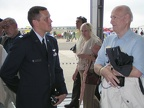 Capt Bob Hines chats with Lloyd at AAM.JPG