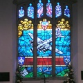 384th Stained glass window in St James.JPG