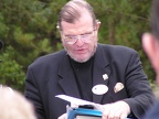 Rev Daniel Foote provided several moving readings at the memorial.JPG