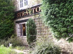 Stratton Arms Pub in Turweston near Brackley. Nice kitty.JPG