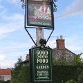 Pub sign for the Chequers in Eriswell.JPG