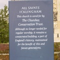 All Saints church sign for those of us who cannot remember what we took photos of.JPG