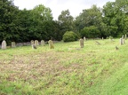 Graveyard at All Saints in Icklingham.JPG