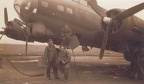 545th ground crew with 42-37762 JD-A 'Chaplain's Office'