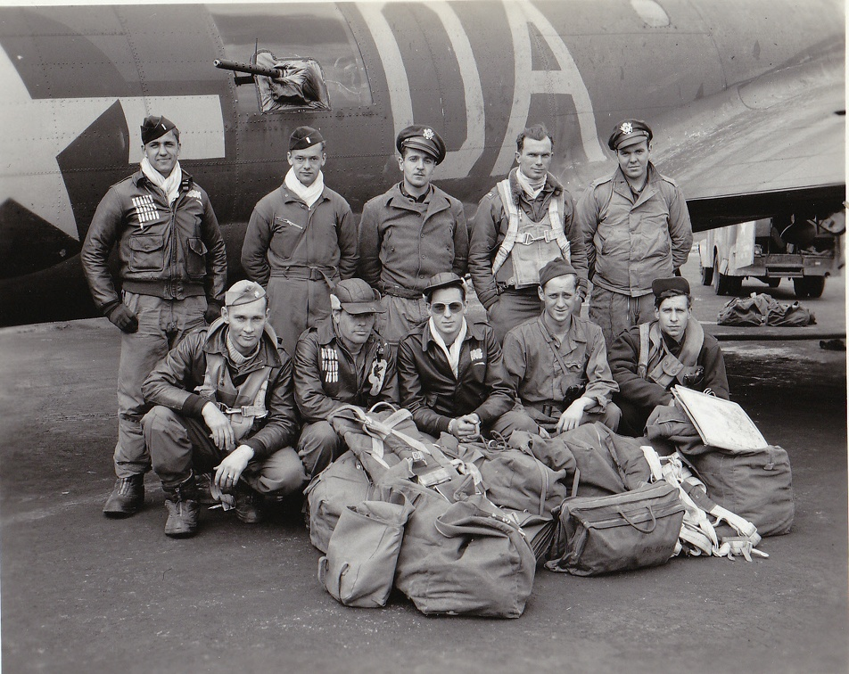 crew-11 Beckett D.H. Brown 8 jun 44