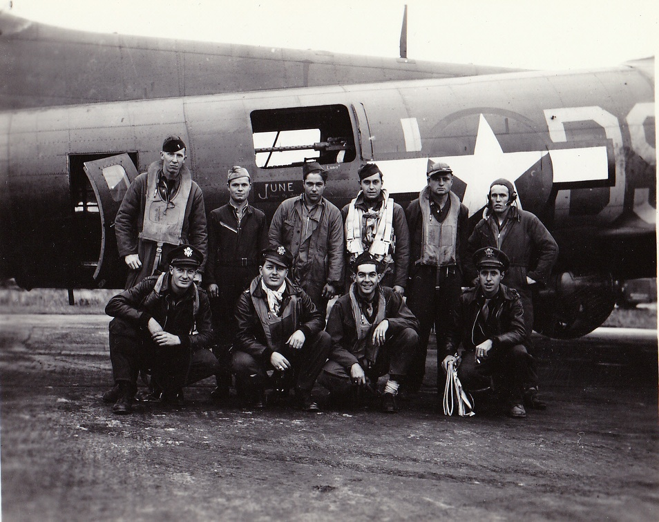 Lead Crew 16 Sept 1943 Nantes