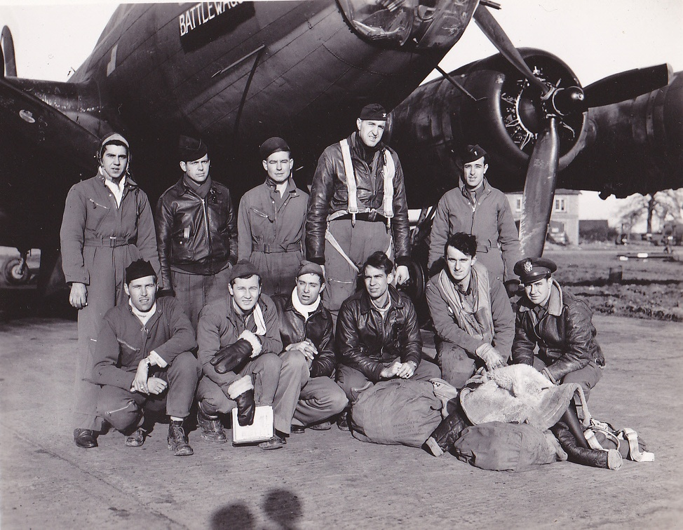 Lead group Flight leader 3 Feb 1944