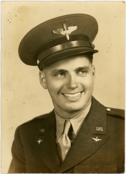 Howard W. Cole, as an Aviation Cadet