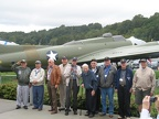 Our Veterans - with another old warrior - the B-17