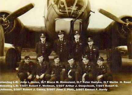 Merlin H. Reed Crew, unidentified B-17G