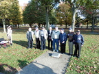 Eight Veterans at the 384th Plaque