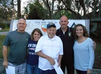 Bob's Family of loving neighbors - Troy Stone, Cathy Lang, Bob, Joe Lang, Ericka Muncy