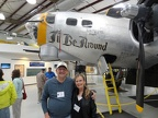 Chuck and Linda at the 390th Bomb Group museum