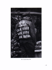 Vern L Arnold wearing his A-2 Jacket