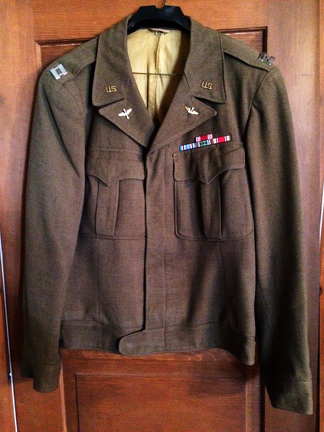 Hamilton's Uniform Jacket