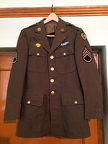 George Caster's Uniform Jacket