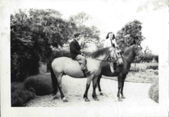 Stanley Surrat on Horseback