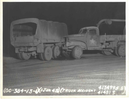 Truck Accident 1 January 1945