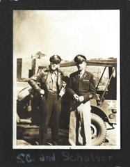 Stanley C. Surratt and Warrant Officer Paul Shaffer
