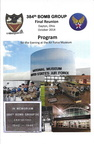 Evening at the USAF Museum, Program, page 1 of 4