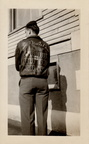 Russell Don Reams, Devil's Brat flight jacket, back, 31 Missions