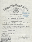 Honorable Discharge Documents for John William Johnson