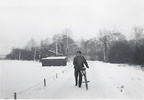 Bicycle in the winter
