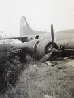 B-17 24529 crash on ground