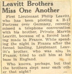 Newspaper - Leavitt Brothers