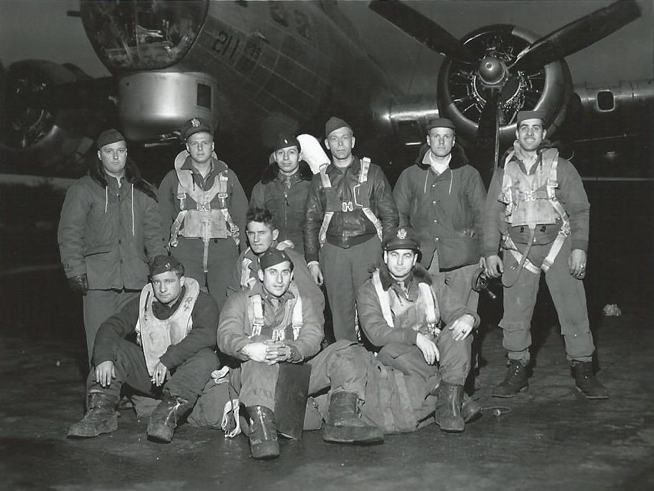 23 November, 1944, 547th BS Lead Crew to Gelsenkirchen