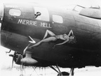 Merrie Hell Nose Art