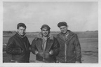 Burt Cullip, Carl Mike, and Arnold Watterson 1944.jpg
