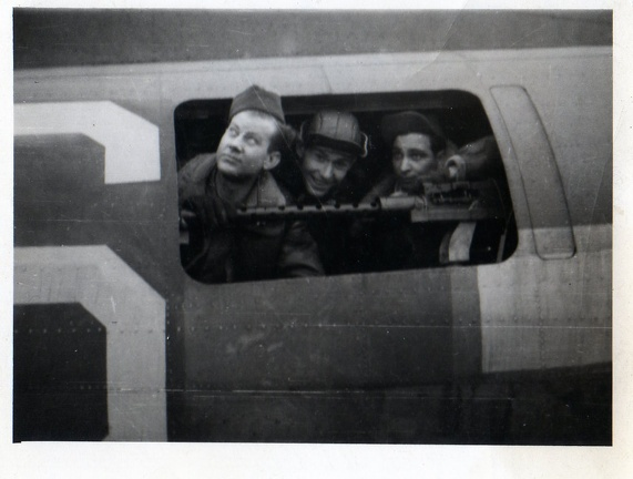 Unidentified 384th Combat Crewmembers