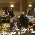 Leonard's table at the banquet