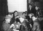 Post-Mission Debriefing 2 October 1943, Emden, Kelly Crew