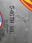 "Clarendon G. ""Rick"" Richert, Signature, 11 June 2011, 546th Squadron"
