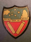 384th BG Leather Patch