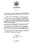 Governor letter