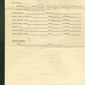 Pilot Briefing Form, April 14, 1945