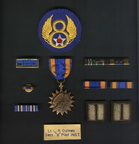 Patch and Medals for Leif R. Ostnes