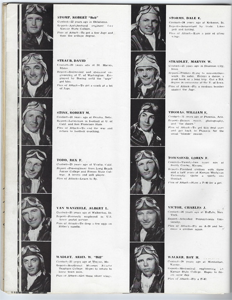 1942 September Members of Class 43-B Aviation Cadets Army Air Corp 25.jpg